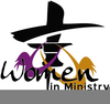 Womens Missionary Clipart Image