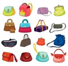 Illustration Of Assortment Of Bags Image