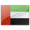 Flag United Arab Emirates Image