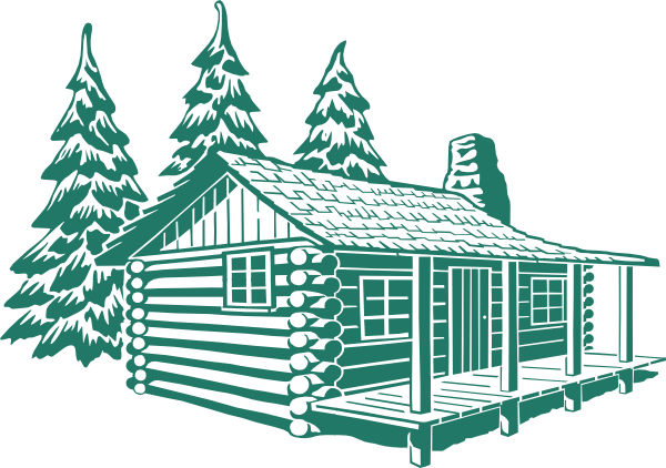 Log cabin clip art at vector clip art online Cabin drawings