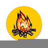 Free Campfire Cooking Clipart Image