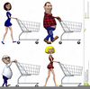Animated Clipart Of People Shopping Image