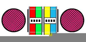 yo gabba gabba boombox clipart free images at clker com vector rh clker com Yo Gabba Gabba Cartoon Toode Yo Gabba Gabba Clip Art