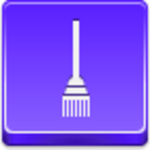 Free Violet Button Broom Image