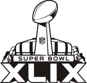 Super Bowl Trophy Clipart Image