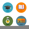 Free Clipart Graduation Icons Image