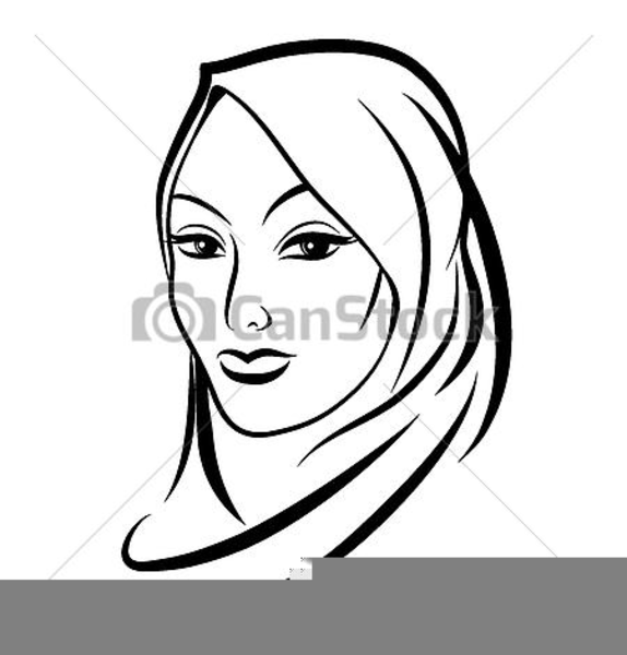 Free Muslim Woman Clipart Free Images At Clker Com