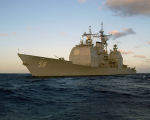 Uss Philippine Sea (cg 58) Conducts Work-ups Image