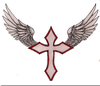 Crosses With Wings Image