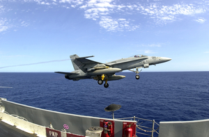 Uss Kitty Hawk - Hornet Launch Image