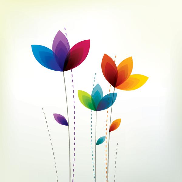 Free Flower Corner Border Clipart