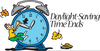 Daylight Time Changes Clipart Image