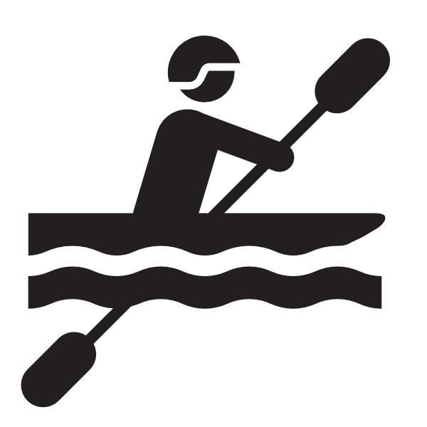 free clipart kayak paddle - photo #28