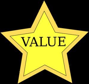 value star clip art at clker com vector clip art online Personal Values Personal Values