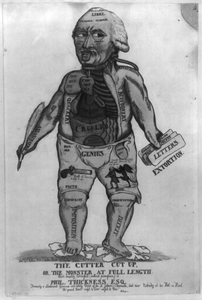 The Cutter Cut Up, Or, The Monster At Full Length Image