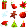 December Holiday Clipart Image