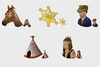 Wild West Vista Icons Image