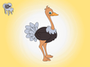 Ostrich Cartoon Images Image