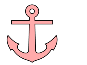 Pink Anchor | Free Images at Clker.com - vector clip art ...