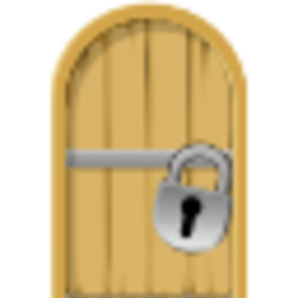 Locked cell door icon free images at vector clip art online royalty free public - Locked door clipart ...