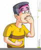 Swallowing Clipart Image