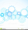 Engineering Gears Clipart Image