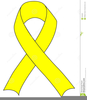 Cancer Support Ribbons Clipart Image