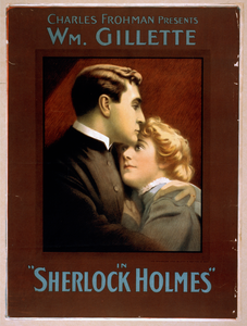 Charles Frohman Presents William Gillette In Sherlock Holmes Image