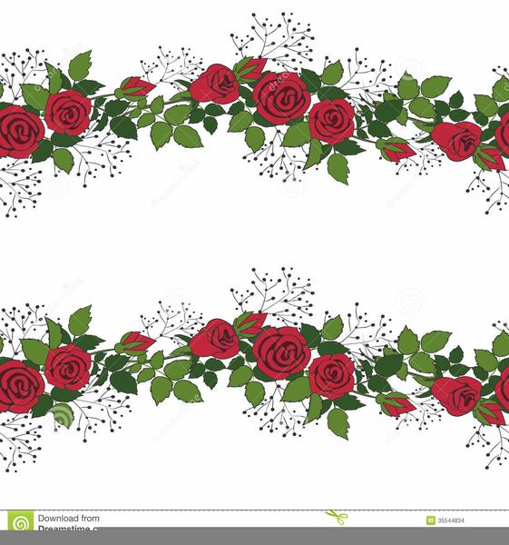 Valentine Roses Clipart