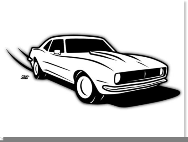 Camaro Clipart Free Images At Clker Com Vector Clip