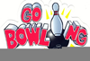 Bowling Lanes Clipart Image