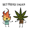 Pictures Of Best Friends Clipart Image