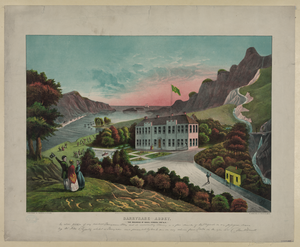 Residence In Mountains And Rivers Image