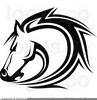 Free Clipart Horse Head Image