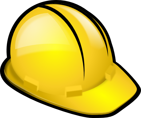 yellow hard hat clipart - photo #3