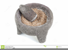 Mortar And Pestle Clipart Image