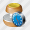 Icon Stamp Clock Image