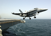 F/a-18c Launches From Uss Washington Image