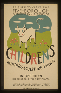 Be Sure To Visit The Five-borough Outdoor Exhibitions Of Children S Paintings, Sculpture, Prints, In Brooklyn  / Herzog. Image