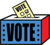 African American Voting Clipart Image