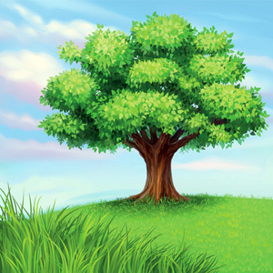 A Tree Vector Material Image