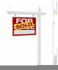 Real Estate For Sale Sign Clipart Image