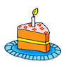 Free Piece Of Cake Clipart Image