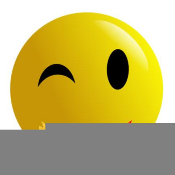 free clipart winking smiley face free images at clker com vector rh clker com Confused Smiley Face Clip Art winking happy face clip art