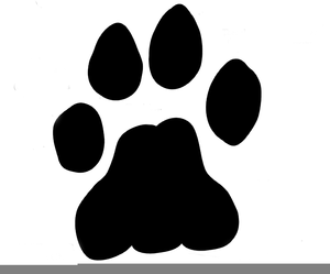clipart lion paw print free images at clker com vector clip art rh clker com Lion Paw Print Border Clip Art African Lion Paw Print