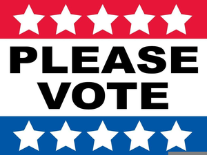 Election Voting Clipart Image