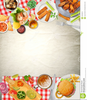 Picnic Background Clipart Image