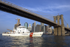 Coast Guard Patrols Brooklyn Bridge Area Image