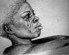 Woman Crying Art Image