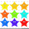 Clipart Stars Buttons Free Image